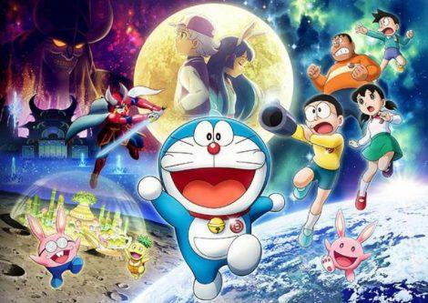 Doraemon Nobita Va Mat Trang Phieu Luu Ky